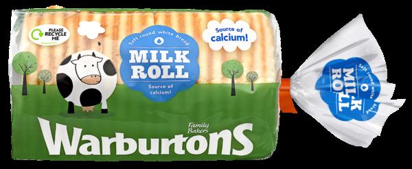 Warburtons Milk Roll
