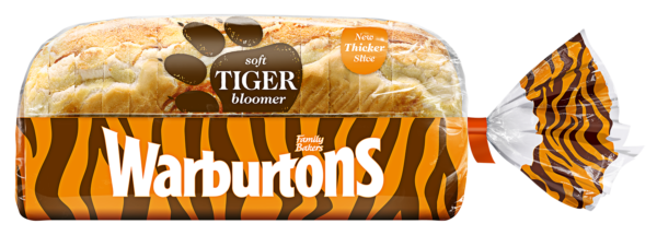 Warburtons Sliced Tiger White