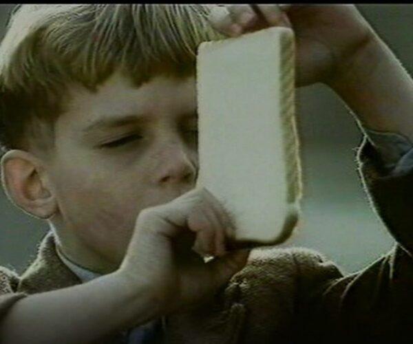 Young Derek Feeds the ducks (1992)