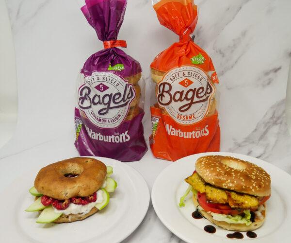 Savoury sweet vegan bagel recipe