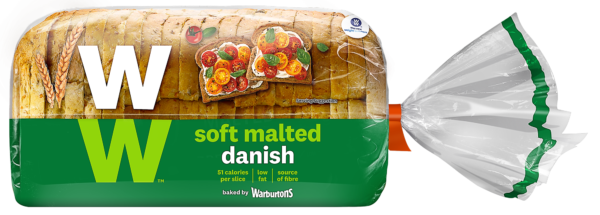 WW® Malted Danish by Warburtons
