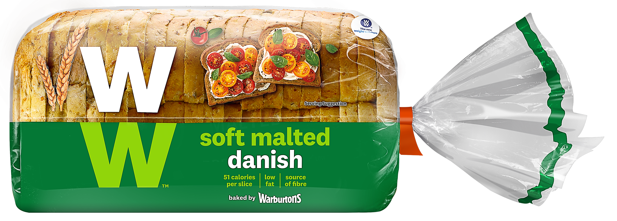 WW® Malted Danish by Warburtons