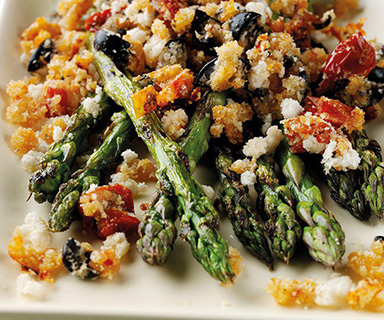Warburtons Roast Asparagus with Crispy Crumbs