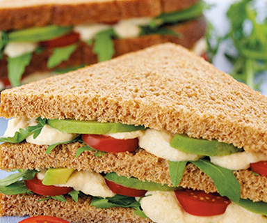 Warburtons Healthy Club Sandwich