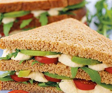 Warburtons Healthy Club Sandwich
