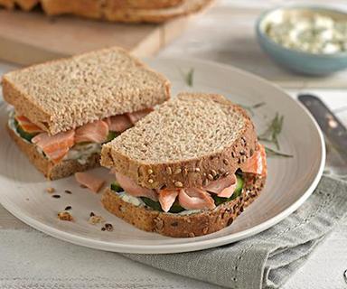 Warburtons Cucumber Protein Sandwich