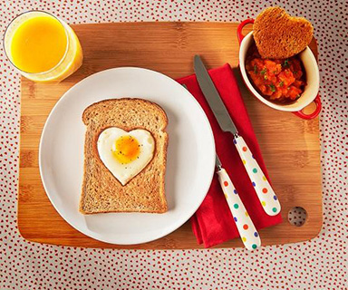 Warburtons Ham and Egg on Toast with a Tomato Salsa