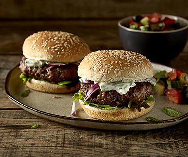 Warburtons Lamb Burgers