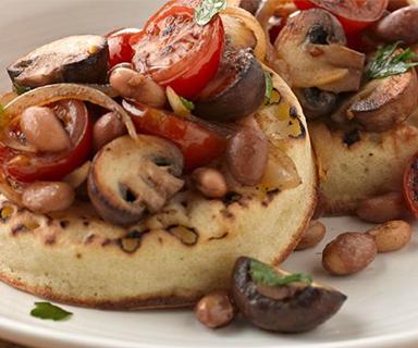 Warburtons Roasted Vegetable Crumpets