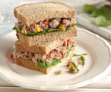 Warburtons Tuna Crunch Sandwich