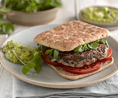 Warburtons High Protein Turkey Burger