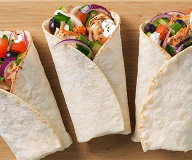 Chicken Tzatziki Warburtons Wraps