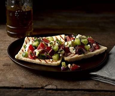 Greek Salad Warburtons Thins