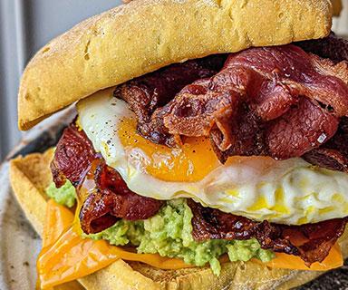 Ultimate Breakfast Bap