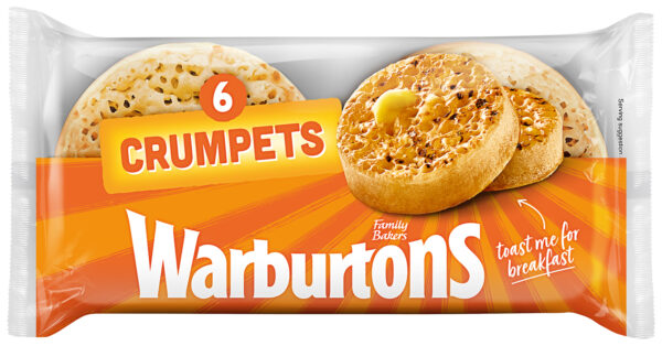 Warburtons 6 Crumpets
