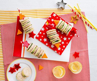 Warburtons Firework Sandwiches