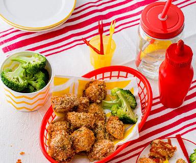 Warburtons Mini Breaded Chicken Bites