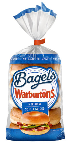 Warburtons 5 Original Bagels