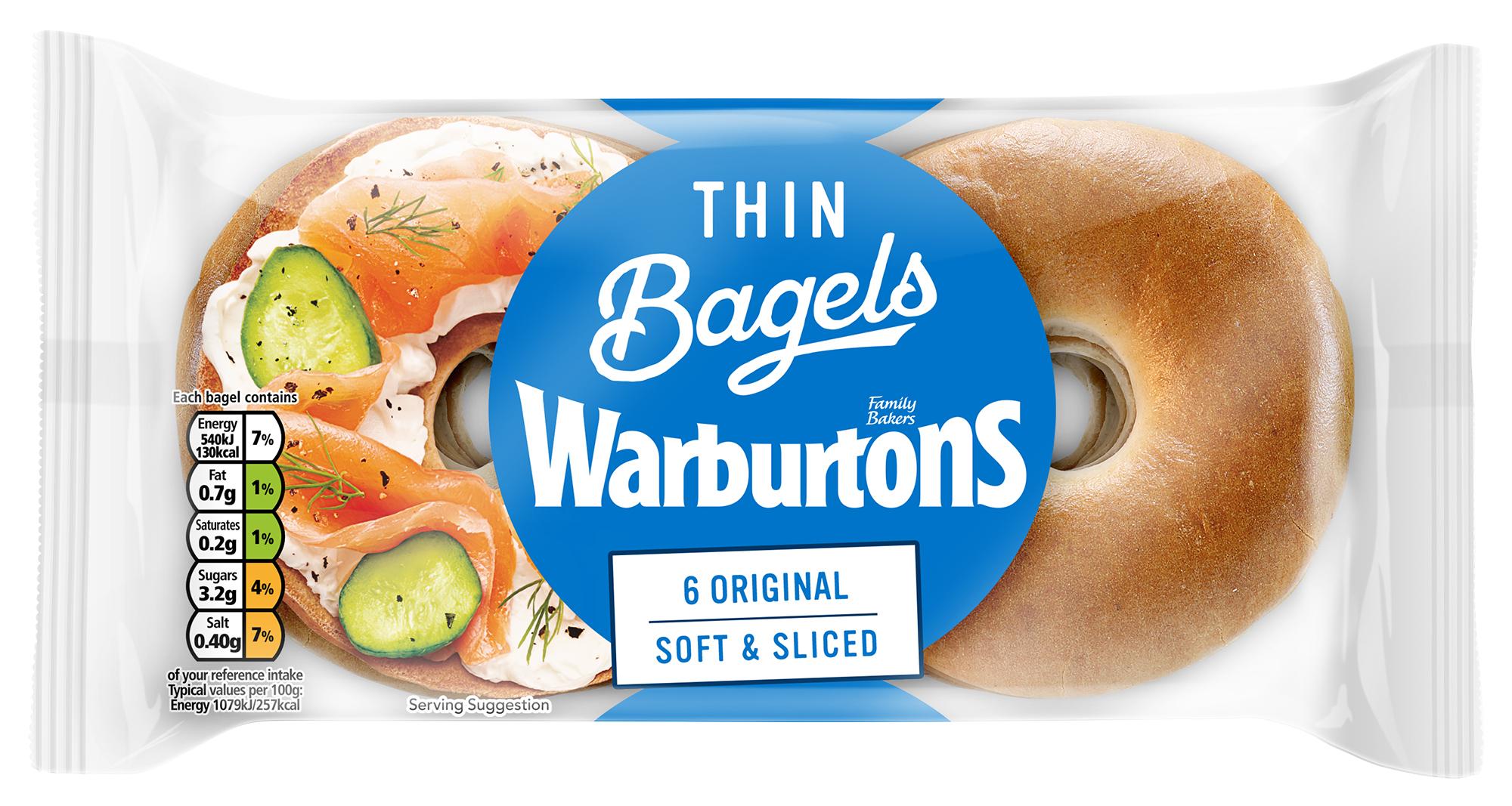 6 Original Thin Bagels