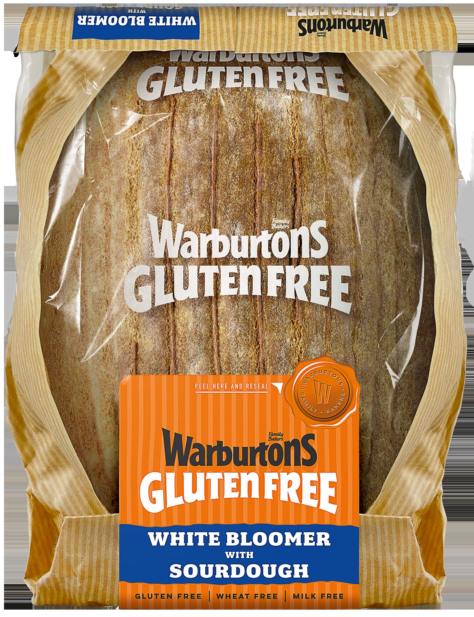 Warburtons White Bloomer with Sourdough (GF)